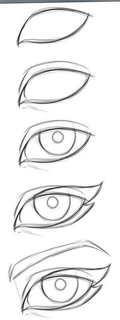 New Eye Drawing Tutorial Easy 57 Ideas Easy Drawing Tutorial, Cat Eye Makeup Tutorial, Eye Drawing Tutorials, Drawing Tips, Drawing Reference, Sketch Drawing, Design Reference, Drawing Ideas, Manga Tutorial
