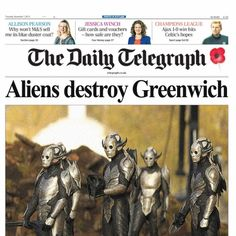 mediavengers:  The Daily Telegraph, November 7, 2013 The Telegraph responds to events in Greenwich, and asks where the heck the rest of the Avengers were. … MediAvengersis an MCU media blog. Magazine spreads and newspaper articles made by fans, for the fans of the Marvel Cinematic Universe. Facebook| DeviantArt| Pinterest| Twitter | G+ All non-Marvel headlines are from the original real-world issue of the publication.
