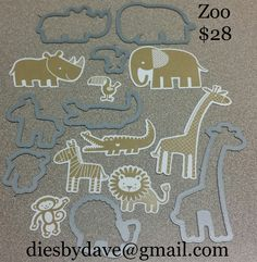 Stampin' Up! Zoo Babies  http://diesbydave.storenvy.com/products/13786986-zoo-ready-aug-24th