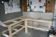 corner workbench designs - Google Search
