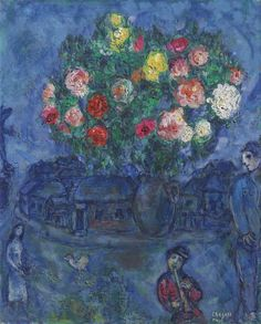 'Le petit flûtiste' (1967) by Marc Chagall