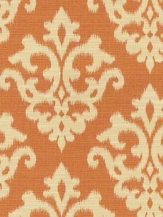 Kravet ODANI Color: PAPAYA  Barclay Butera Prints-Weaves/Bungalow.  This is the fabric for the wing chair in the living room.