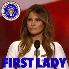 Our beautiful First Lady, Melania Trump. ~@guntotingkafir GOD BLESS AMERICA AND GOD BLESS PRESIDENT TRUMP!!!