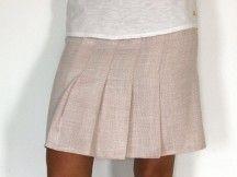 Patron de couture - Jupe plissée femme