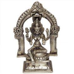 Statue religieuse hindoue - Figurine déesse Dourga en laiton: Amazon.fr: Cuisine & Maison