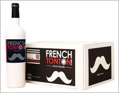 French Tonton Etiquette vin originale  www.french-tonton.fr  Le vin à la #moustache !