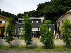 南側ウッドフェンス8 支柱立て | MyHouse 新築改装の日々-DIYブログ-