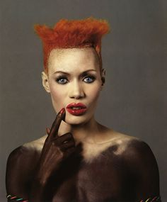 Before Rihanna there was Grace Jones