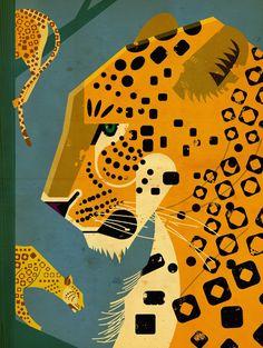 Leopard by Dieter Braun