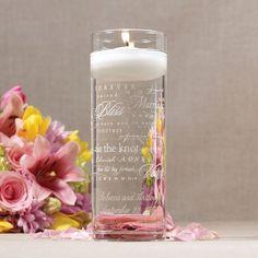 floating unity candle
