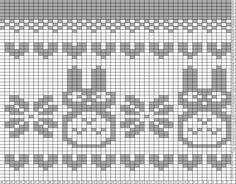 Tricksy Knitter Charts: totoro hat