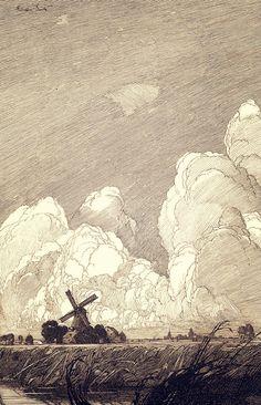 Мельница в облаках