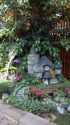 gorgeous diy fairy gardens that will take your breath away page 5 of 19 take your pick! the top 50 mini fairy garden design ideas Fairy Garden Plants, Mini Fairy Garden, Fairy Garden Houses, Diy Fairy House, Fairy Gardening, Herbs Garden, Gardening Books, Gardening Gloves, Garden Crafts