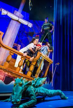 Peter Pan Goes Wrong at the Apollo review – 'blissful comic timing'