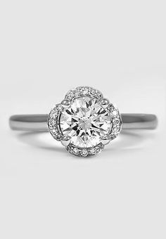Beautiful Fleur Diamond Ring ♥