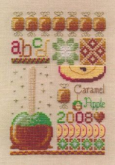 Casey buonaugurio designs cross stitch patterns kits for Cross stitch kitchen designs