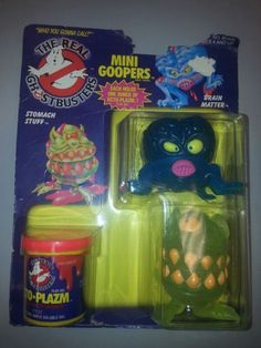 Ghostbusters toys 80s