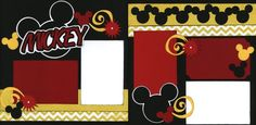 Mickey Mouse Layout