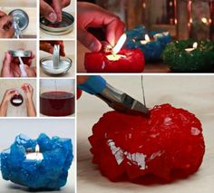 Crystal Candle Holders DIY Watch The Video Tutorial