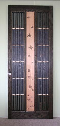 野崎邸 モダン格子戸(雪の結晶)