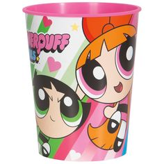 Check out Powerpuff Girls Plastic Favor Cup | Tableware and décor for your next party from Birthday in a Box from Birthday In A Box