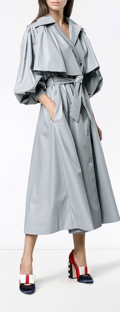 VIKA GAZINSKAYA oversized trench coat, explore new season Vika Gazinskaya now.