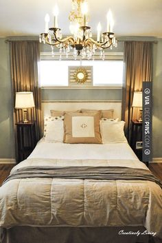 So awesome - DIY:  Ideas for decorating every room in your home by using what you have. | CHECK OUT MORE MASTER BEDROOM IDEAS AT DECOPINS.COM | #masterbedroom #bedroom #bedrooms #homedecor #beds #interiordesign #home #homedecoration #design