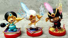 Custom-made Aladdin themed Amiibo starring Toad as Jasmine, Aladdin, and Jafar. Individual snaps of each Amiibo with variations included! Princesa Peach, Disney Word, Super Mario Art, Cute Pokemon Wallpaper, Nintendo Characters, Disney Infinity, Video Game Art, Toad, Mario Bros