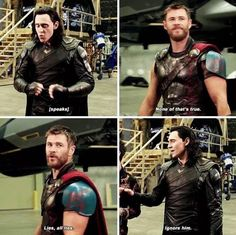 Thor & Loki || Chris & Tom || Thor: Ragnarok