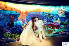 Orlando Wedding Photographers: Rachael & George's Disney Cruise Wedding on Disney Dream Wedding Photography