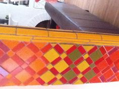 Vintage tiles. Morroccan design.