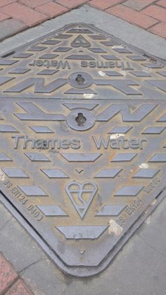 Amazingly, they use a heart on the man hole covers.
