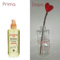 Fiore per san valentino riciclo bottiglia olio Provenzali #ioriciclo San Valentino, Valentines Day, Soap, Bottle, Valentine's Day Diy, Flask, Bar Soap, Valentine Words, Soaps