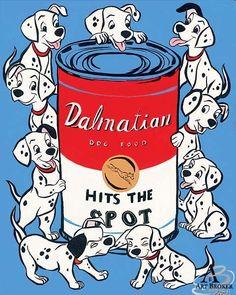 Tricia Buchanan-Benson – Hits the Spot – 101 Dalmatians Disney Artwork, Disney Drawings, Disney Films, Disney Pixar, Disney Dogs, Disney Posters, Disney Aesthetic, Walt Disney Studios, Disney And More