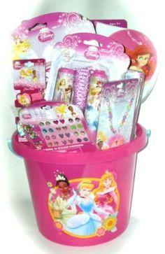 Pre-Made Easter Basket for Girls:  Disney Princess Easter Basket at Amazon