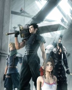 Final Fantasy 7: Crisis Core. First game I finished.