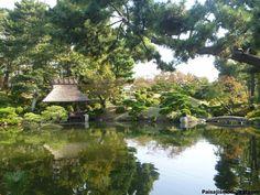 Jardín de Shukkeien en Tokyo, Japon