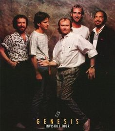 Phil Collins and Genesis 1986 Rare Poster – Vintage Poster Plaza 80s Music, Good Music, Charles Collins, Phill Collins, Genesis Band, Peter Frampton, Classic Rock Bands, Peter Gabriel, How To Express Feelings