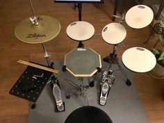 Drum Music, Music X, Practice Drum Kit, Diy Drums, Drum Patterns, Drum Sets, New Hobbies, Rock Bands, Music Instruments