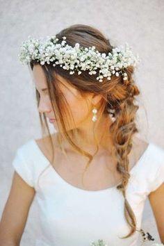 Peinados de novia 2015: Diseños con flores naturales (Foto 20/20) | Ellahoy