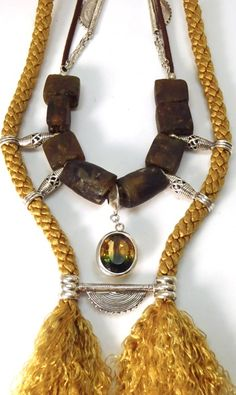 New necklace by Christie Brookstein for Ndau Collection Zimbabwe