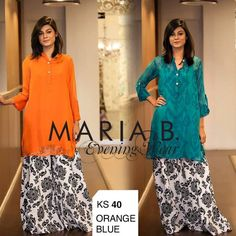 Latest Styling Palazzo by Maria B For Girls 2014
