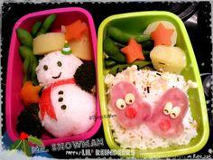 ::snowman&reindeers::