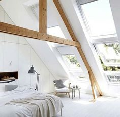 Love the angled open windows
