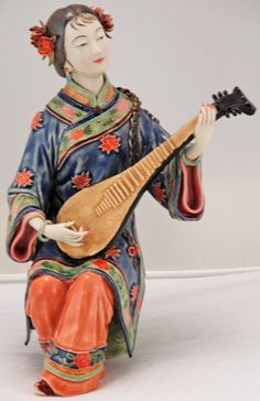 bk0219y-porcelain-chinese-figurine-lady | por Silk Road Collection