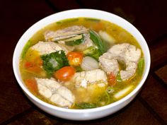 Catfish Soup... hmong way... Could probably use any type of white meaty fish…