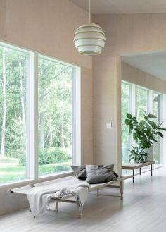 The Summer Cottage of a Finnish Interior Stylist and Designer - Nordic Design Scandinavian Interior, Home Interior, Living Room Interior, Interior Architecture, Interior Design, Interior Walls, Interior Stylist, Nordic Design, Side Chairs