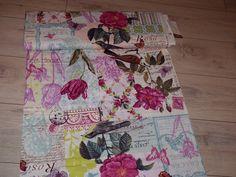 Stoff Blumen - Michael Miller US Stoff Belle Rose französich - ein Designerstück…