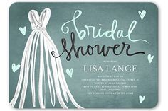 10 Bridal Shower Invitations We'd Totally RSVP 'Yes' To