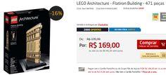 LEGO Architecture - Flatiron Building - 471 peças << R$ 13520 em 2 vezes >>